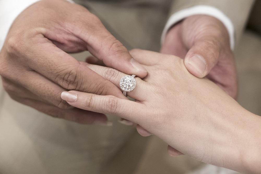 How To Wear Wedding Rings.Which Order Do You Wear Engagement Wedding Eternity Rings