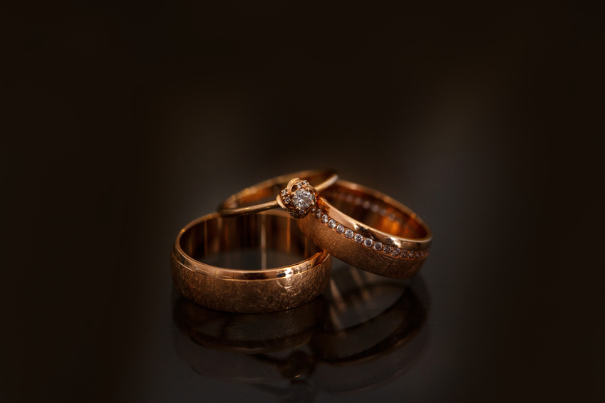 A Wedding, Engagement and Eternity Ring