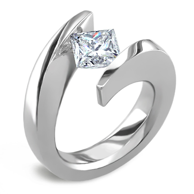 Introducing Tension Set Engagement Rings Purely Diamonds