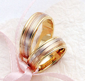 Unique TriColor Wedding Rings Purely Diamonds Blog