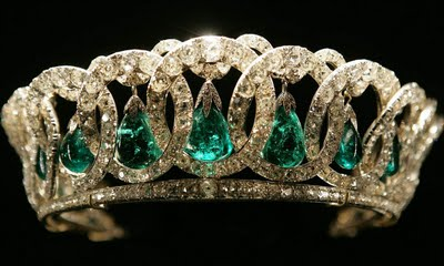 Image result for Royal Emeralds: Queen Elizabeth's Emerald Tiara