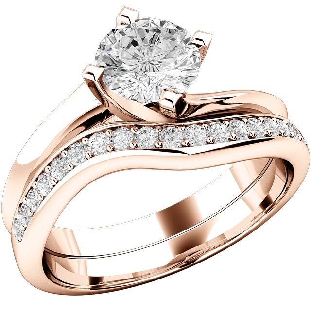 Matching Your Wedding And Engagement Ring Purely Diamonds