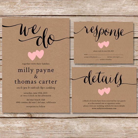 Things To Include In A Wedding Invitation: Wedding Invitation Etiquette: What To Include & How To