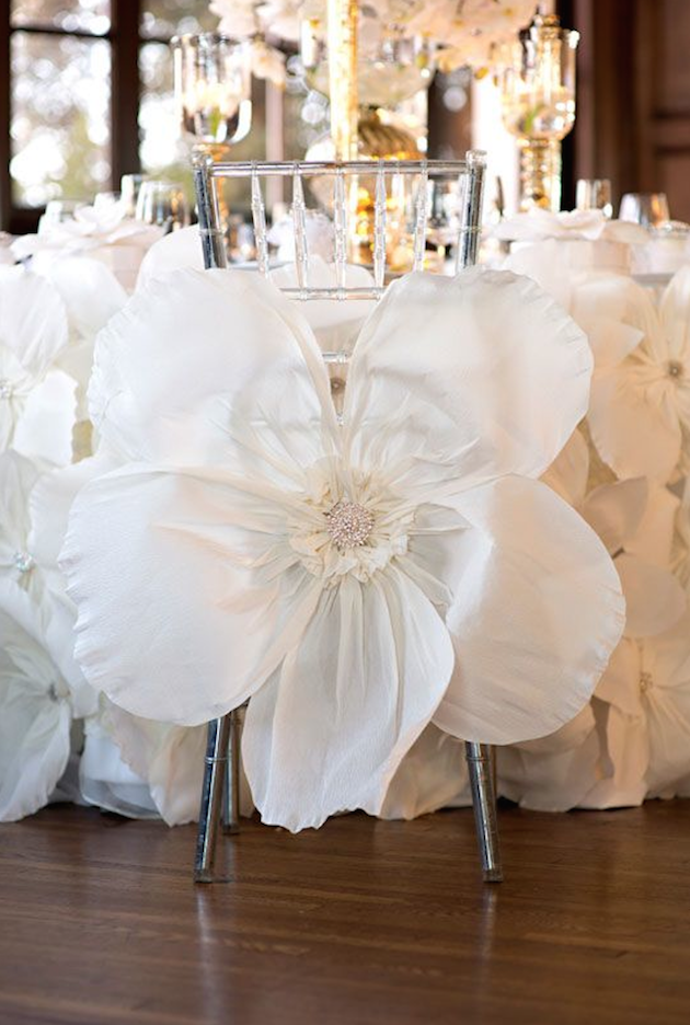 Wedding Chair Covers Unique Creative Ideas Purely Diamonds