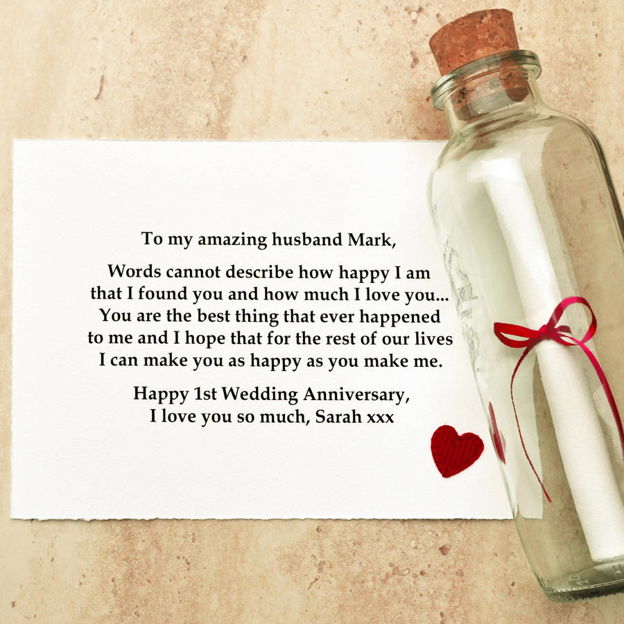 Gifts For Wedding Anniversaries: First Anniversary (Paper) Gift Ideas