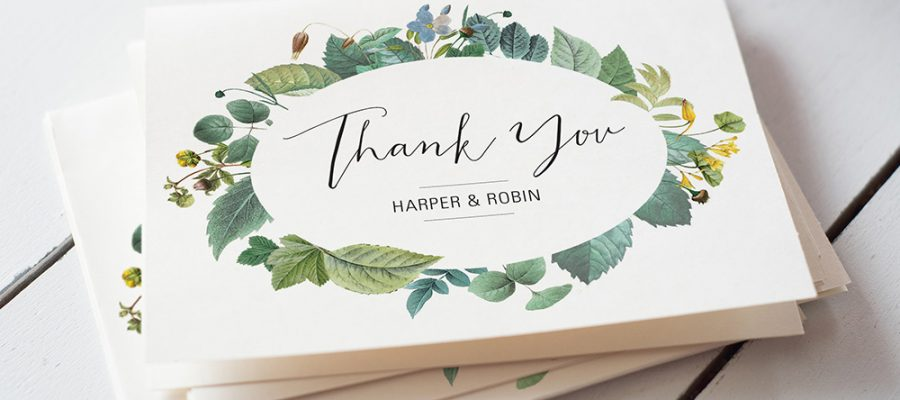 what to write in a wedding thank you card