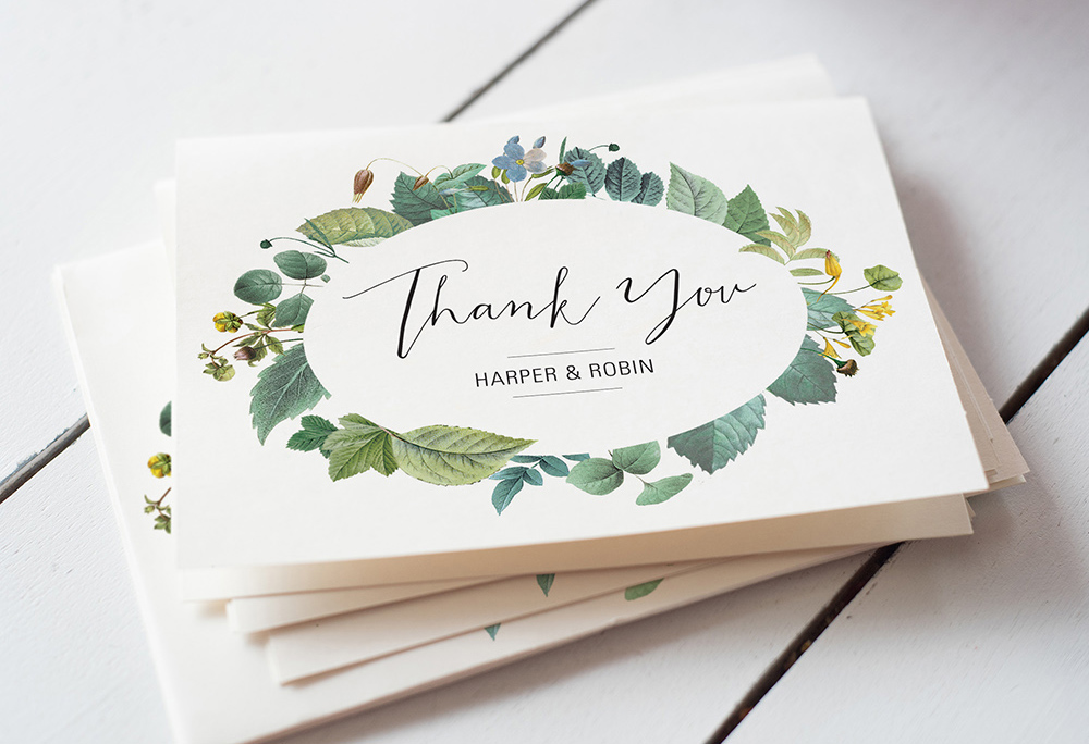 Thank You For A Wedding Gift: How To Write Wedding Thank You Cards