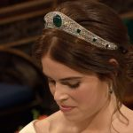 Princess Eugenie and the Diamond & Emerald Tiara