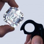 Graff unveils the world's largest square emerald cut diamond at 302.37ct!