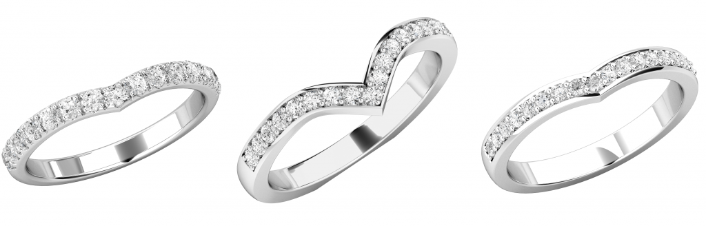 Wishbone Wedding Rings