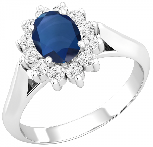 apphire Engagement Ring