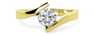 Yellow Gold Engagement Ring pd146y