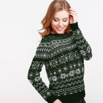 What do you get the person who has everything this Christmas? A diamond-embellished jumper!