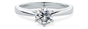 PD112 - Solitaire Engagement Ring