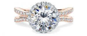 For Evermore Round Engagement Ring