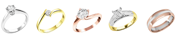 Picking the right metal for your ring is important.