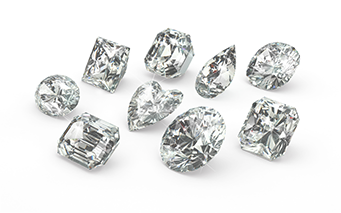 We have many diamond shapes available