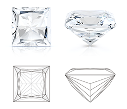 Princess (Square) Cut Diamond