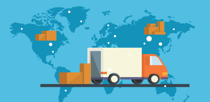 International and overseas delivery