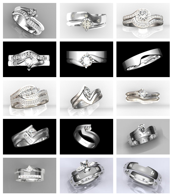 Wed-fit rings examples