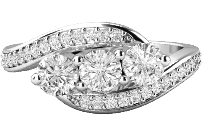 Diamond rings collection