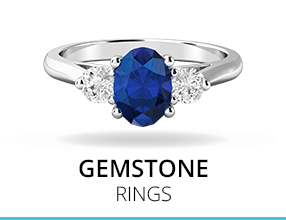 Browse our gemstone rings